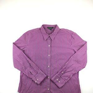 Lauren By Ralph Lauren Men's Dress Shirt XL (D15)
